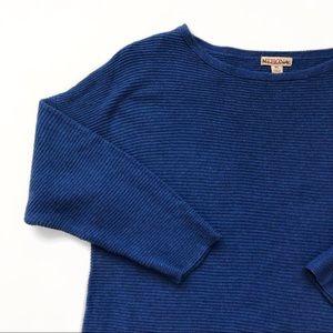 Women's Quarter Sleeve Ribbed Sweater